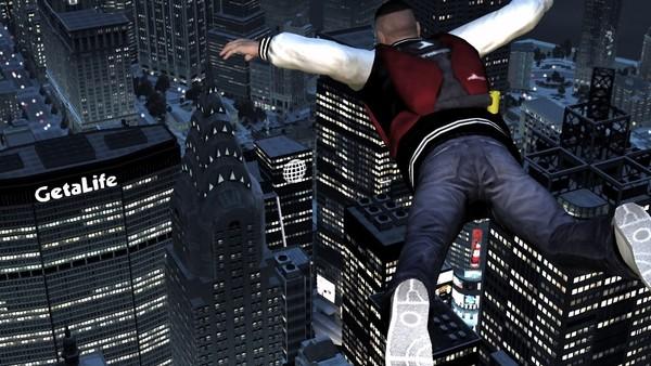 GTA IV base jumping
