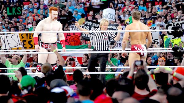 Daniel Bryan Sheamus WrestleMania 28