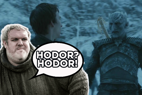 Game of Thrones Hodor Bran Night's King
