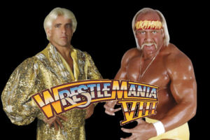 Hogan Flair WrestleMania VIII