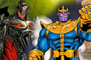 Avengers Thanos Ultron