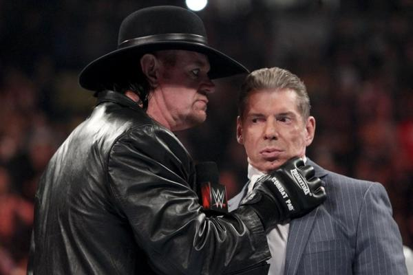 the undertaker vince mcmahon