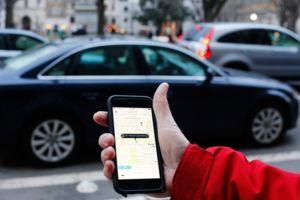 Uber phone mercedes