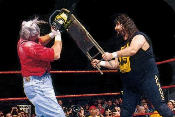Cactus Jack Chainsaw Charlie Royal Rumble 1998