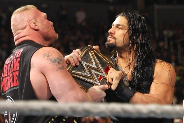 brock lesnar roman reigns