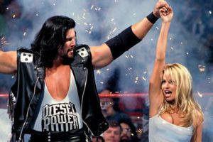 Diesel Pamela Anderson WrestleMania XI