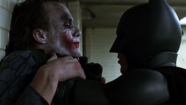 The Dark Knight Joker Christian Bale Heath Ledger
