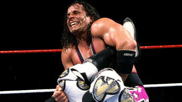 Bret Hart Shawn Michaels Iron Man Sharpshooter