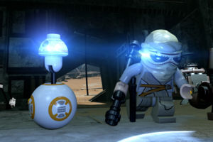 LEGO Star Wars Rey BB-8