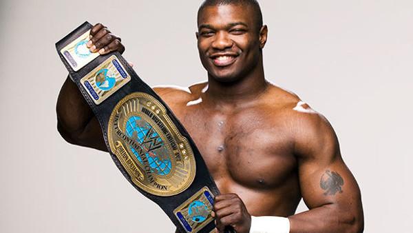 Shelton Benjamin Intercontinental Champion 2006