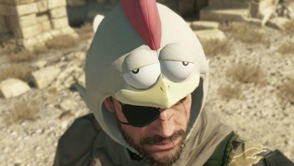 metal gear solid chicken hat