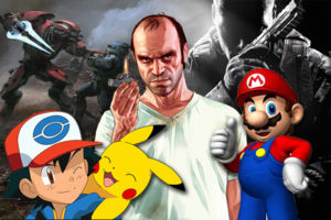 best selling games 2010-2015