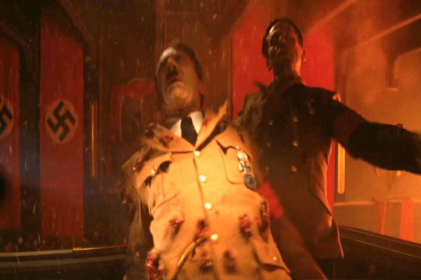 Inglourious Basterds Hitler Death