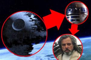 Star Wars Death Star R2-D2 Luke Skywalker