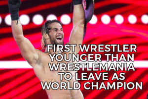 Seth Rollins WrestleMania Fact