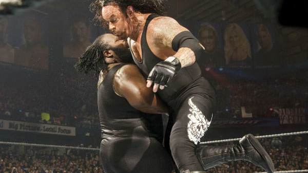 Resultado de imagem para The Undertaker vs. Mark Henry - Wrestlemania 22