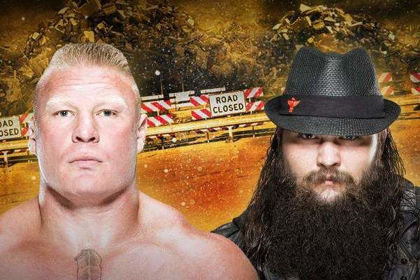 Bray Wyatt Brock Lesnar Roadblock