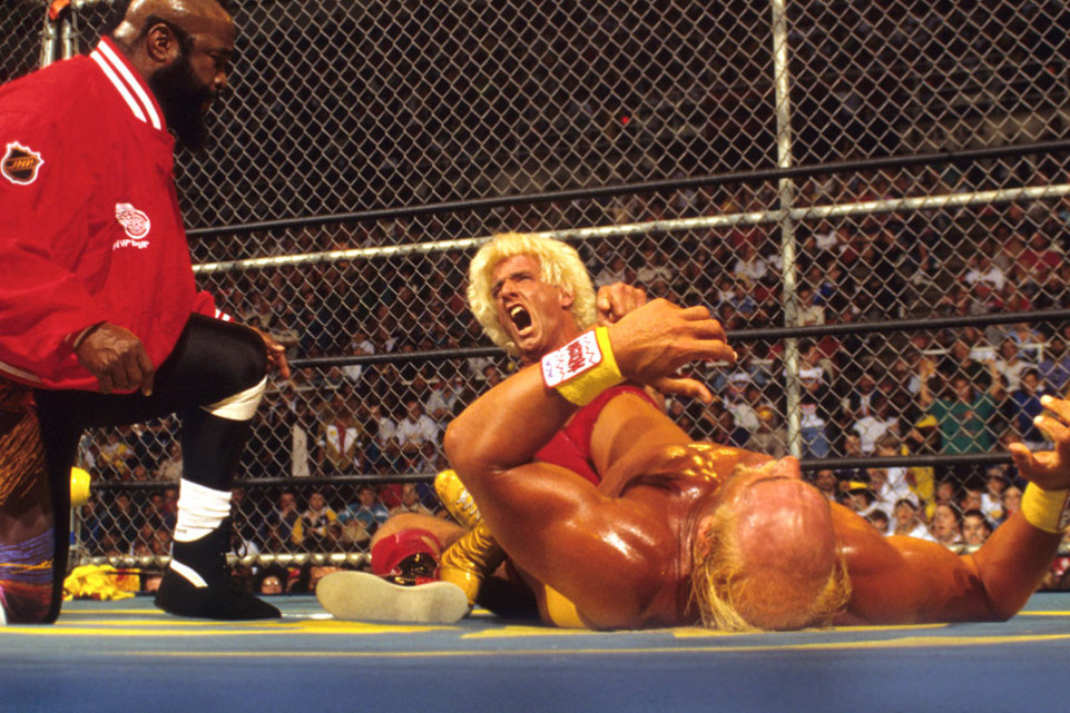 Ric Flair Hulk Hogan Halloween Havoc 94