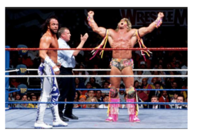 macho man randy savage ultimate warrior