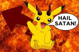 Devil Pikachu