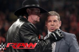 the undertaker vince raw