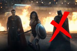 Batman V Superman No Bats