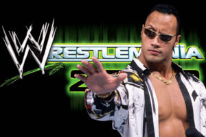 The Rock WrestleMania 2000