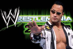 The Rock WrestleMania 2000