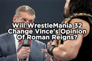 Vince McMahon, Roman Reigns