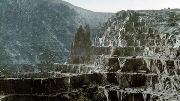 Slate Quarry Wales