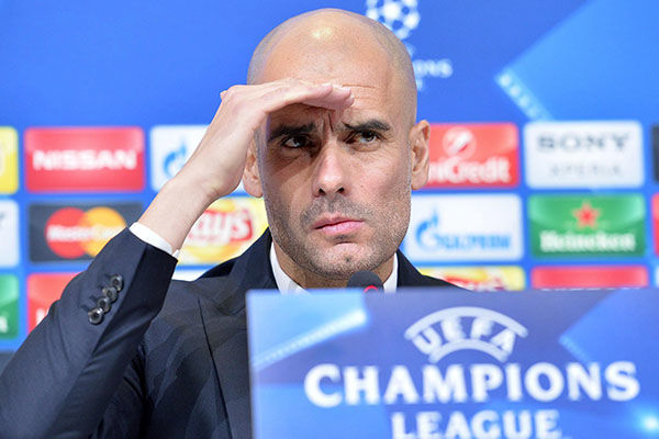 Pep Guardiola Champions League