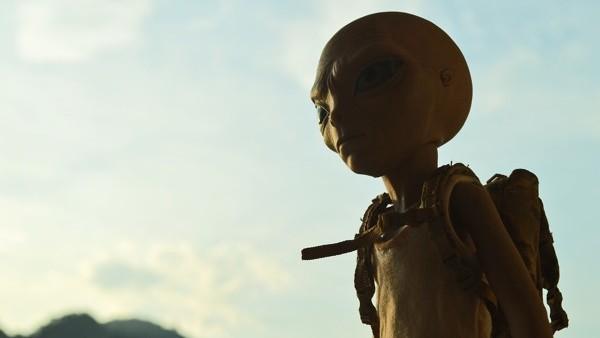 Alien back pack