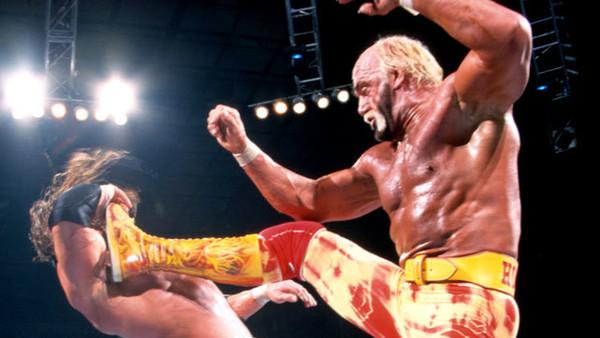 Image result for WWE Backlash 2002 HHH vs Hulk Hogan