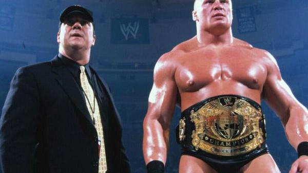 Brock Lesnar Paul Heyman 2002.jpg