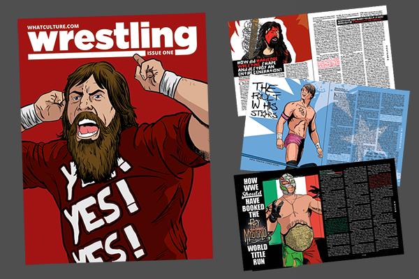Whatculture Wrestling magazine
