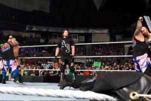 Roman Reigns AJ Styles The Usos Luke Gallows Karl Anderson