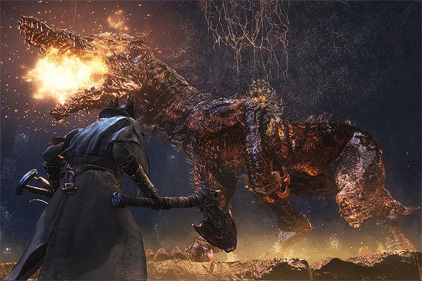 Bloodborne Fiery Beast