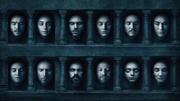 Game of thrones season 6 poster faces