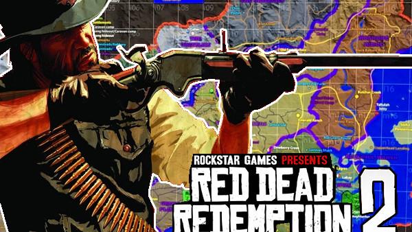 red dead redemption map leak