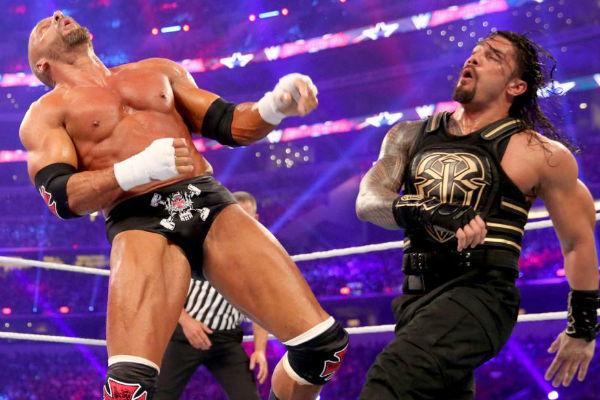 roman reigns triple h wrestlemania 30