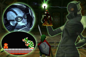 influential video game Boss battles