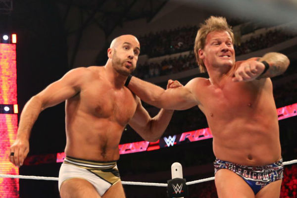 cesaro chris jericho raw