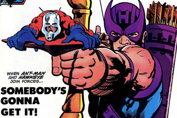 Ant-man Hawkeye