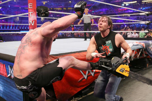 Image result for dean ambrose chainsaw