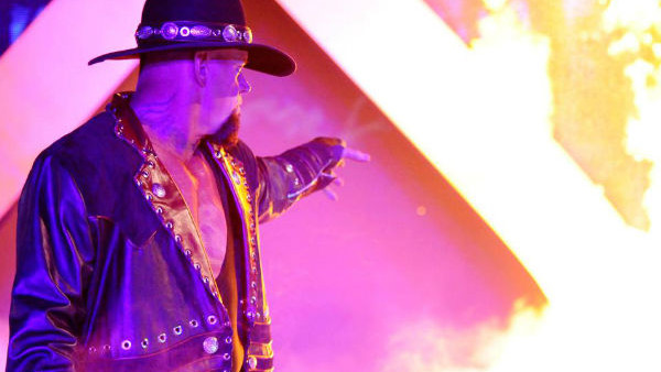 the undertaker fire