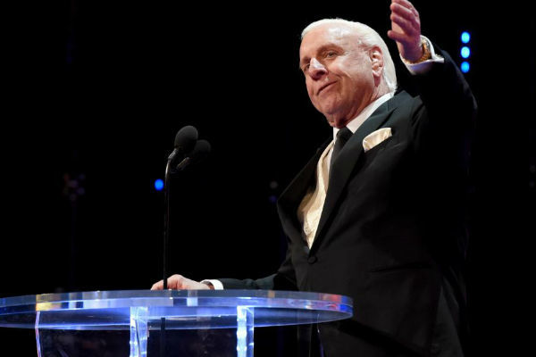Former pro wrestling star Flair hospitalized