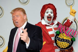 Donald Trump Ronald McDonald Razzies.jpg