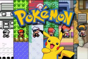 Pokemon through the years