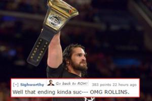 WWE Extreme Rules Seth Rollins