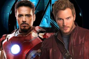 Avengers Iron Man Star Lord